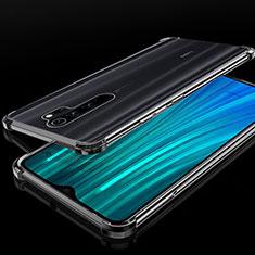 Custodia Silicone Trasparente Ultra Sottile Cover Morbida H02 per Xiaomi Redmi Note 8 Pro Nero