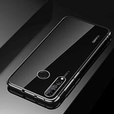Custodia Silicone Trasparente Ultra Sottile Cover Morbida H03 per Huawei Enjoy 9s Nero