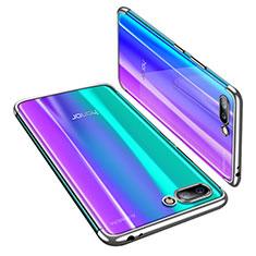 Custodia Silicone Trasparente Ultra Sottile Cover Morbida H03 per Huawei Honor 10 Argento