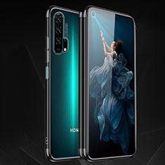 Custodia Silicone Trasparente Ultra Sottile Cover Morbida H03 per Huawei Honor 20 Pro Nero