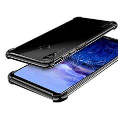 Custodia Silicone Trasparente Ultra Sottile Cover Morbida H03 per Huawei Honor Note 10 Nero