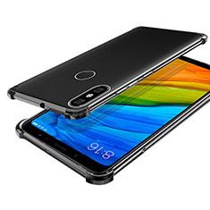 Custodia Silicone Trasparente Ultra Sottile Cover Morbida H03 per Xiaomi Mi 6X Grigio