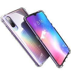 Custodia Silicone Trasparente Ultra Sottile Cover Morbida H03 per Xiaomi Mi 9 Chiaro