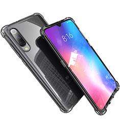 Custodia Silicone Trasparente Ultra Sottile Cover Morbida H03 per Xiaomi Mi 9 Lite Grigio