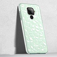 Custodia Silicone Trasparente Ultra Sottile Cover Morbida H04 per Huawei Mate 30 Lite Verde