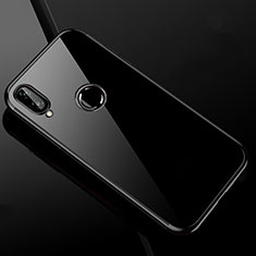 Custodia Silicone Trasparente Ultra Sottile Cover Morbida H04 per Xiaomi Redmi Note 7 Pro Nero