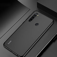 Custodia Silicone Trasparente Ultra Sottile Cover Morbida H04 per Xiaomi Redmi Note 8 Nero