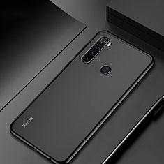 Custodia Silicone Trasparente Ultra Sottile Cover Morbida H04 per Xiaomi Redmi Note 8T Nero