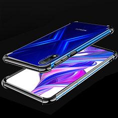 Custodia Silicone Trasparente Ultra Sottile Cover Morbida H05 per Huawei Honor 9X Nero