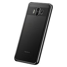 Custodia Silicone Trasparente Ultra Sottile Cover Morbida H05 per Huawei Mate 10 Nero