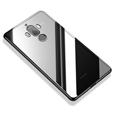 Custodia Silicone Trasparente Ultra Sottile Cover Morbida H05 per Huawei Mate 9 Nero