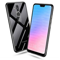 Custodia Silicone Trasparente Ultra Sottile Cover Morbida H06 per Huawei Mate 20 Lite Nero