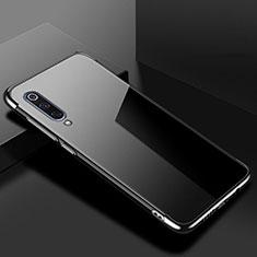 Custodia Silicone Trasparente Ultra Sottile Cover Morbida H08 per Xiaomi Mi 9 Lite Nero