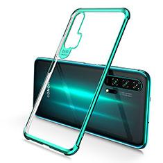 Custodia Silicone Trasparente Ultra Sottile Cover Morbida S01 per Huawei Honor 20 Pro Verde