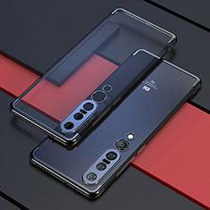 Custodia Silicone Trasparente Ultra Sottile Cover Morbida S03 per Xiaomi Mi 10 Pro Nero