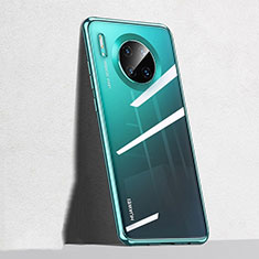 Custodia Silicone Trasparente Ultra Sottile Cover Morbida S04 per Huawei Mate 30 5G Verde