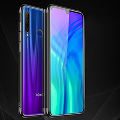 Custodia Silicone Trasparente Ultra Sottile Cover Morbida S05 per Huawei Honor 20 Lite Nero