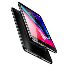 Custodia Silicone Trasparente Ultra Sottile Morbida A08 per Apple iPhone 7 Plus Nero