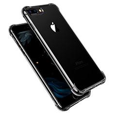 Custodia Silicone Trasparente Ultra Sottile Morbida A11 per Apple iPhone 8 Plus Chiaro