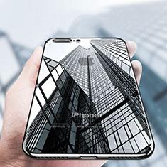 Custodia Silicone Trasparente Ultra Sottile Morbida A14 per Apple iPhone 8 Plus Nero