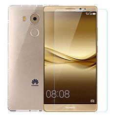 Custodia Silicone Trasparente Ultra Sottile Morbida con Pellicola Protettiva per Huawei Mate 8 Chiaro