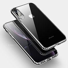 Custodia Silicone Trasparente Ultra Sottile Morbida HC04 per Apple iPhone XR Chiaro