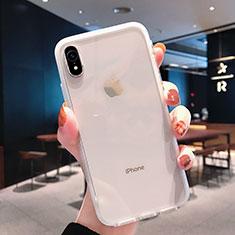 Custodia Silicone Trasparente Ultra Sottile Morbida K01 per Apple iPhone XR Chiaro