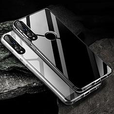 Custodia Silicone Trasparente Ultra Sottile Morbida K01 per Huawei Honor 20 Lite Chiaro