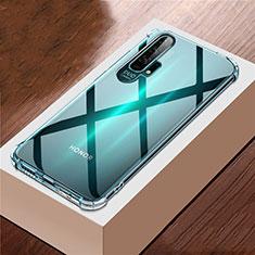 Custodia Silicone Trasparente Ultra Sottile Morbida K01 per Huawei Honor 20 Pro Chiaro