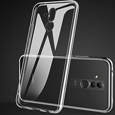 Custodia Silicone Trasparente Ultra Sottile Morbida K01 per Huawei Mate 20 Lite Chiaro