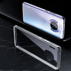 Custodia Silicone Trasparente Ultra Sottile Morbida K01 per Huawei Mate 30 Chiaro