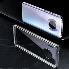 Custodia Silicone Trasparente Ultra Sottile Morbida K01 per Huawei Mate 30E Pro 5G Chiaro