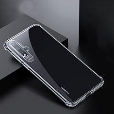 Custodia Silicone Trasparente Ultra Sottile Morbida K01 per Huawei Nova 5 Chiaro
