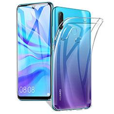 Custodia Silicone Trasparente Ultra Sottile Morbida K01 per Huawei P30 Lite Chiaro