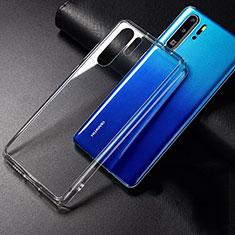 Custodia Silicone Trasparente Ultra Sottile Morbida K01 per Huawei P30 Pro Chiaro