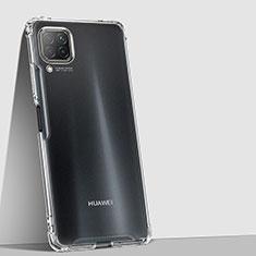 Custodia Silicone Trasparente Ultra Sottile Morbida K01 per Huawei P40 Lite Chiaro
