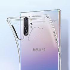 Custodia Silicone Trasparente Ultra Sottile Morbida K01 per Samsung Galaxy Note 10 Plus 5G Chiaro
