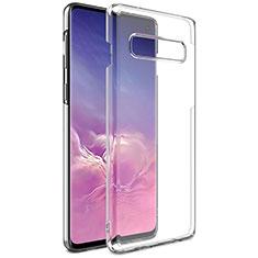Custodia Silicone Trasparente Ultra Sottile Morbida K01 per Samsung Galaxy S10 Chiaro