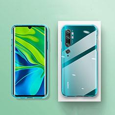 Custodia Silicone Trasparente Ultra Sottile Morbida K01 per Xiaomi Mi Note 10 Pro Chiaro