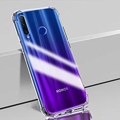 Custodia Silicone Trasparente Ultra Sottile Morbida K02 per Huawei Honor 20 Lite Chiaro