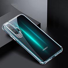 Custodia Silicone Trasparente Ultra Sottile Morbida K02 per Huawei Honor 20 Pro Chiaro