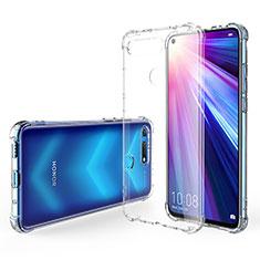 Custodia Silicone Trasparente Ultra Sottile Morbida K02 per Huawei Honor View 20 Chiaro
