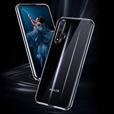 Custodia Silicone Trasparente Ultra Sottile Morbida K02 per Huawei Nova 5T Chiaro