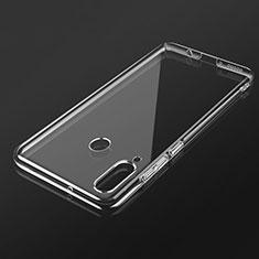 Custodia Silicone Trasparente Ultra Sottile Morbida K02 per Huawei P30 Lite New Edition Chiaro