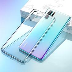 Custodia Silicone Trasparente Ultra Sottile Morbida K02 per Huawei P30 Pro Chiaro