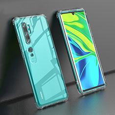 Custodia Silicone Trasparente Ultra Sottile Morbida K02 per Xiaomi Mi Note 10 Chiaro