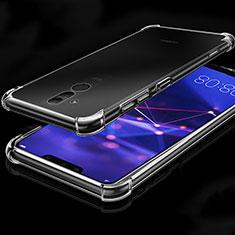 Custodia Silicone Trasparente Ultra Sottile Morbida K03 per Huawei Mate 20 Lite Chiaro