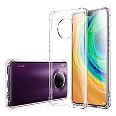 Custodia Silicone Trasparente Ultra Sottile Morbida K03 per Huawei Mate 30 5G Chiaro