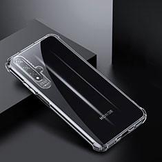 Custodia Silicone Trasparente Ultra Sottile Morbida K03 per Huawei Nova 5T Chiaro