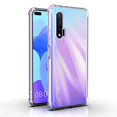 Custodia Silicone Trasparente Ultra Sottile Morbida K03 per Huawei Nova 6 5G Chiaro